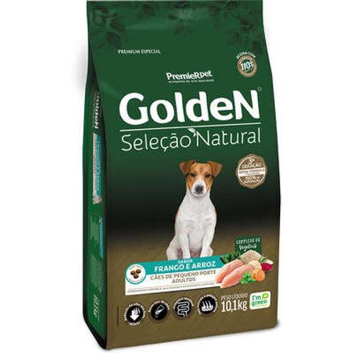 Ração Golden Seleção Natural Cães Adulto Frango e Arroz 3Kg
