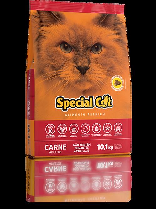 Ração Special Cat Premium Carne Gatos Adultos