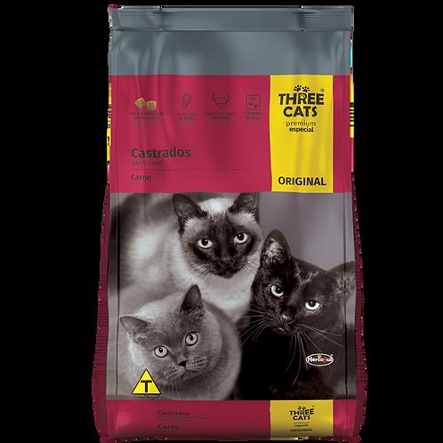Ração Three Cats Premium Especial Original Castrados 1 Kg