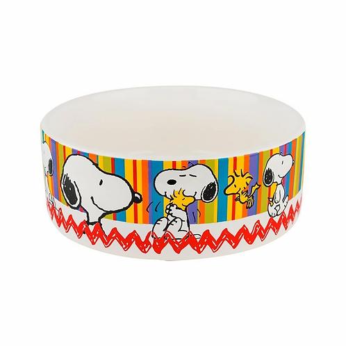 Comedouro Cerâmica Snoopy