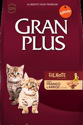 Ração Gran Plus Gato Filhote Frango e Arroz 10 kg