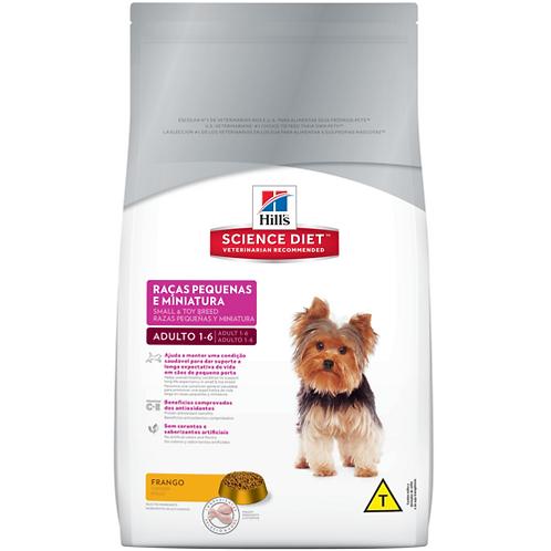 Ração Hill's™ Science Diet™ Canino Adulto Raças Pequenas e Miniatura