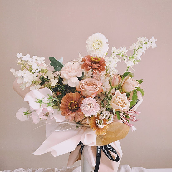 Romantic Garden Style Flower Bouquet