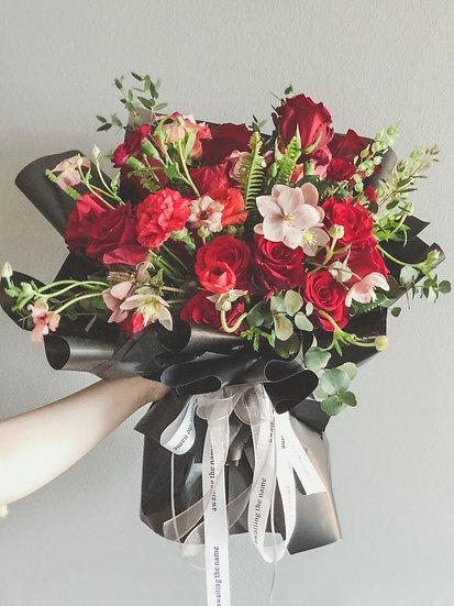 Red Rose Valentine's day Flower Bouquet