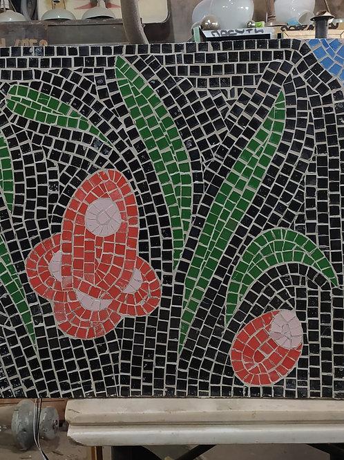 "Панно мозаика ""Цветы"""