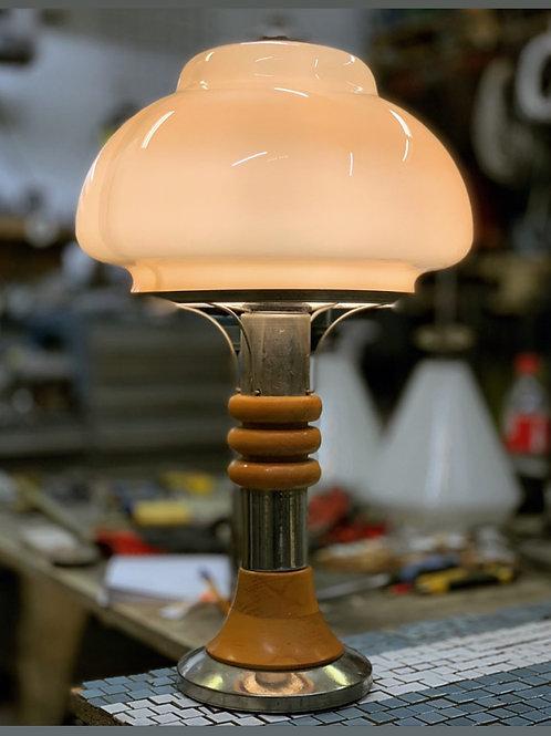 Настольная лампа стекло