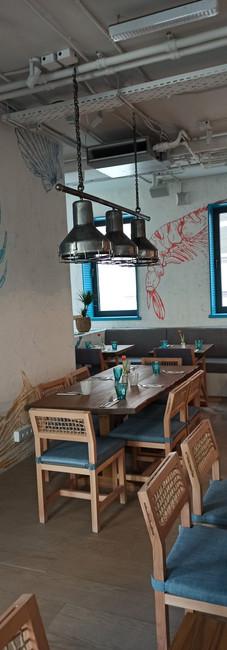 свет в ресторане Морская