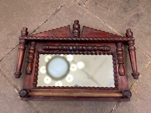 Полочка под полотенце с зеркалом