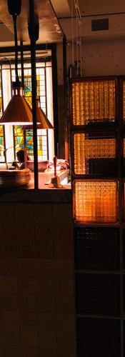 витражи в ресторане Цейлон (Н. Новгород)
