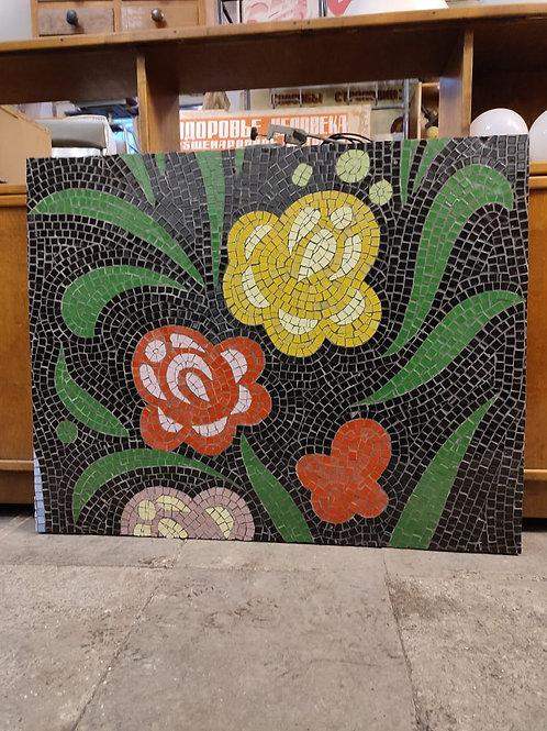 Мозаика панно Цветы