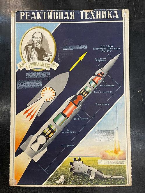 Плакаты Космос СССР