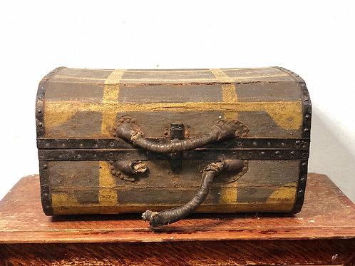 Каретный чемодан старинный