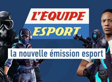 L'Équipe va encore plus loin sur l'eSport
