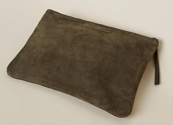 Pochette en cuir