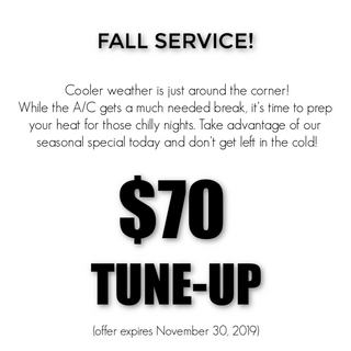 Fall 2019 Service Special