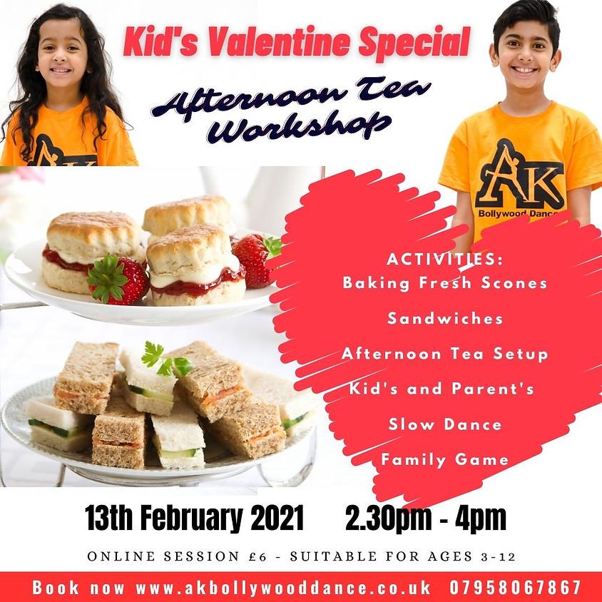 Kid's Valentine's Afternoon Tea Workshop