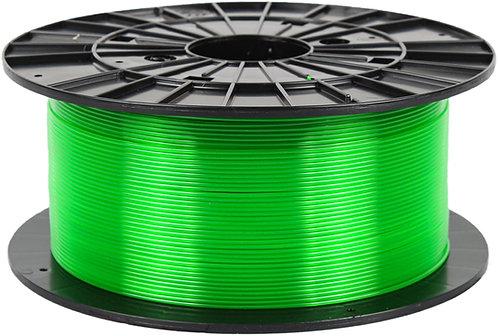 Filament PM Transparent Green PETG 1.75mm, 1 kg spool