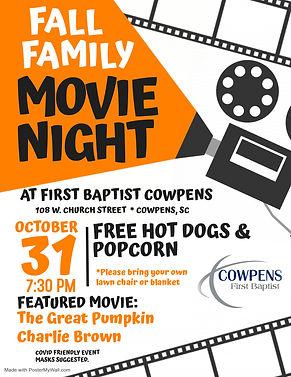 Fall Family Movie Night