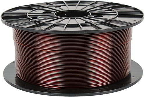 Filament PM Transparent Brown PETG 1.75mm, 1 kg spool
