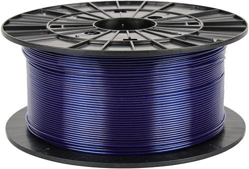 Filament PM Transparent Blue PETG 1.75mm, 1 kg spool