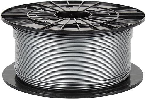Filament PM 1 KG Premium PLA - Silver - 1.75mm