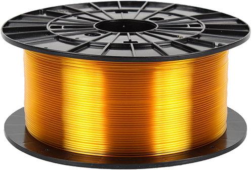 Filament PM Transparent Yellow PETG 1.75mm, 1 kg spool
