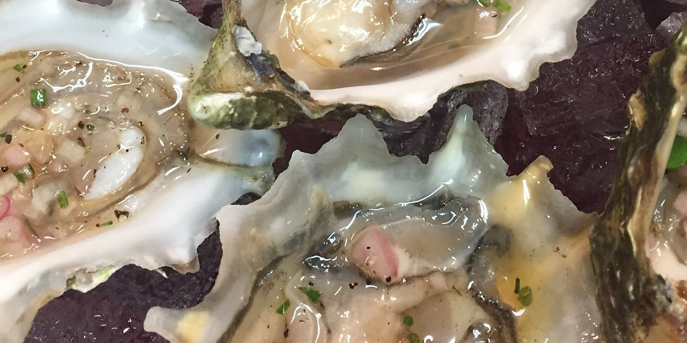 Oysters & Bubbles December 5 & 6 at di Arie Tasting Room