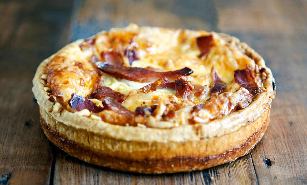 Bacon & Mushroom Quiche