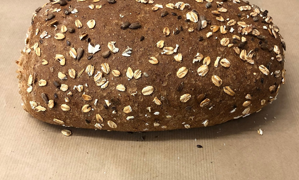 Wholemeal Nutty Bobby (Bloomer topped with oats and seeds)