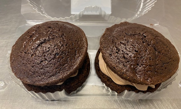 Small Chocolate Victoria Sandwiches (Pack of 2)