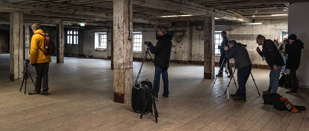 Photography Workshop at Chatham Historic Dockyard