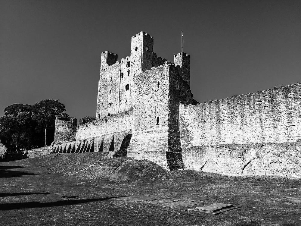 Rochester Castle Photograph