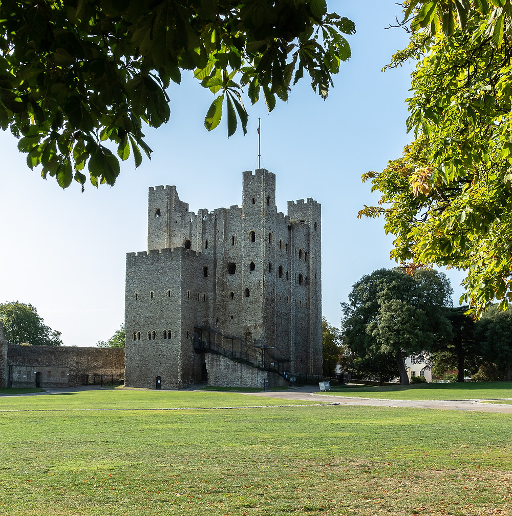 Photograph of Rochester Castle