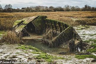Shipwreck at Riverside Country Park