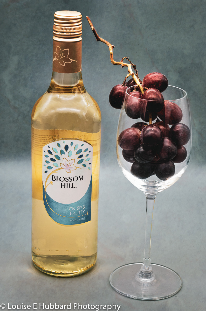 Photograph of Wine and Grapes