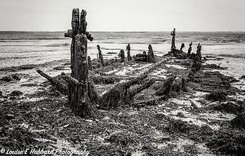Shipwreck at Lower Halstow