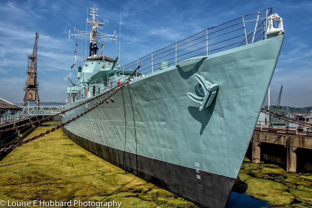 HMS Cavalier at Chatham Historic Dockyard