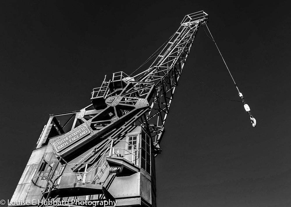 Crane at Chatham Historic Dockyard
