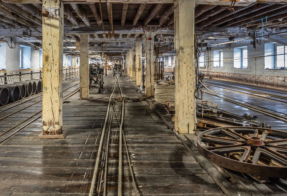Ropery at Chatham Historic Dockyard