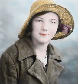 Colourised photograph