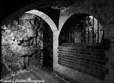 Napoleonic tunnels at Fort Amherst
