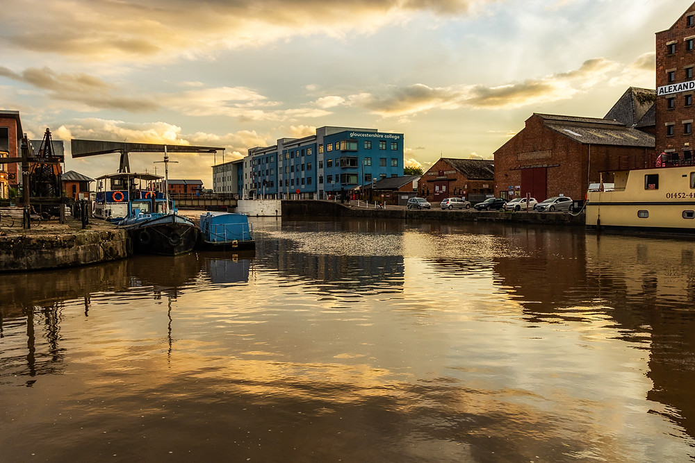 Photograph of Gloucester Docks