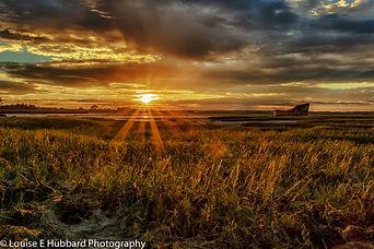 Sunset at Motney Hill