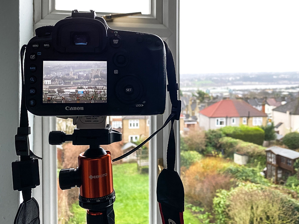 Photographing from your window
