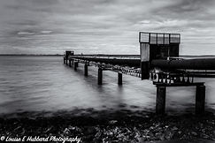 Pipe Jetty at Cliffe Pools