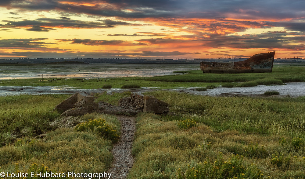 Ship Wreck, Sunset and Landscape Photography