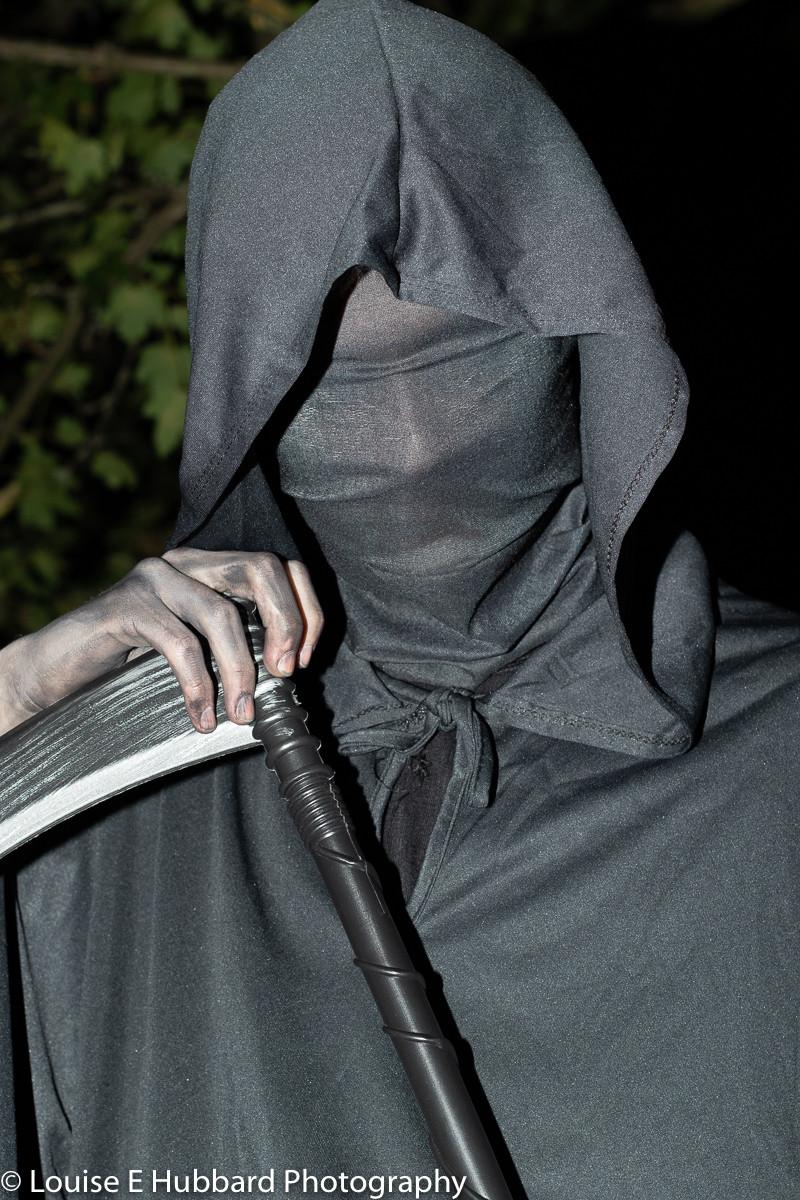 Halloween grim Reaper photography