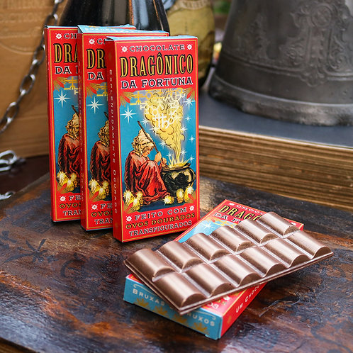Chocolate Dragônico da Fortuna