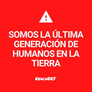 Somos la última generación de humanos en la tierra