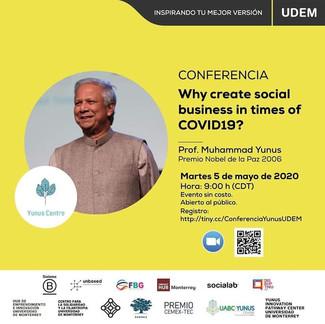 Conferencia Muhammad Yunus